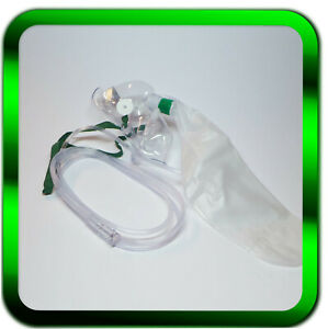 2-x-Sauerstoffmasken-incl-Beutel-und-Schlauch-Sauerstoff-Haendler