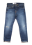 Edwin ED80 Slim Tapered Fit Jean Homme Contraste Clean Wash 63 Rainbow lisière 32