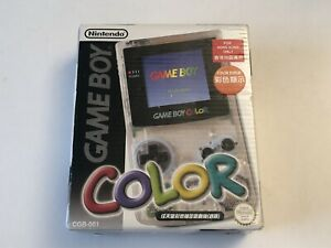 Very-Rare-Hong-Kong-Only-Clear-GameBoy-Color-Console-Box-Only-Complete-Yours