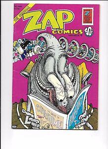 R CRUMB S CLAY WILSON GILBERT SHELTON SPAIN RODRIGUEZ ZAP COMIX #7 1974