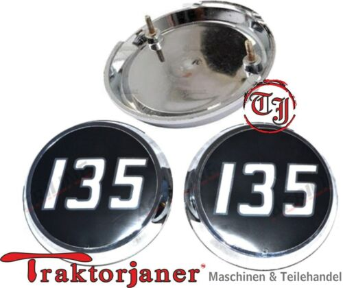 Tj 265 Massey Ferguson 2 Stück Emblem für Traktor MF 135