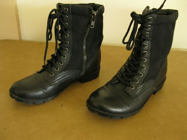 J75 Jump Strong Womens Black BOOTS Size