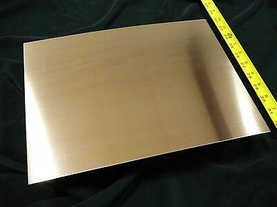 "20oz Revere Copper Sheet- 22 Ga. .027/"" Thick * FREE SHIPPING * 9/""x12/"""