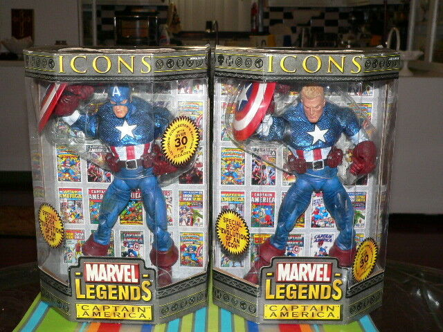 Los 2 marvel - legenden icons.