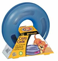 Petmate Crazy Circle Interactive Cat Toy, Small , New, Free Shipping on sale