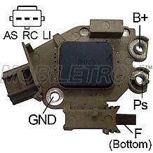 12 Volt Alternator Voltage Regulator 12V Ford Mazda Peugeot Mob Vr-Pr4920