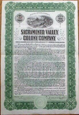 Sacramento Valley Colony Company /> 1923 California