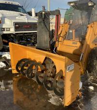 Erskine Snow Blower Attachment For Skid Steers 2418 Xl 2 Stage Quick Attach