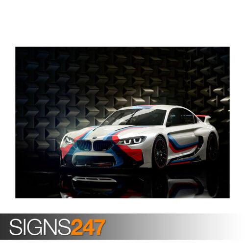BMW VISION GRAN TURISMO 0120 Photo Poster Print Art * All Sizes Car Poster