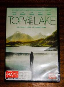 Top-Of-The-Lake-BBC-Mini-Series-2-Disc-DVD-Region-4-Elisabeth-Moss