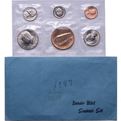 1987 Philadelphia Mint Souvenir Coin Set