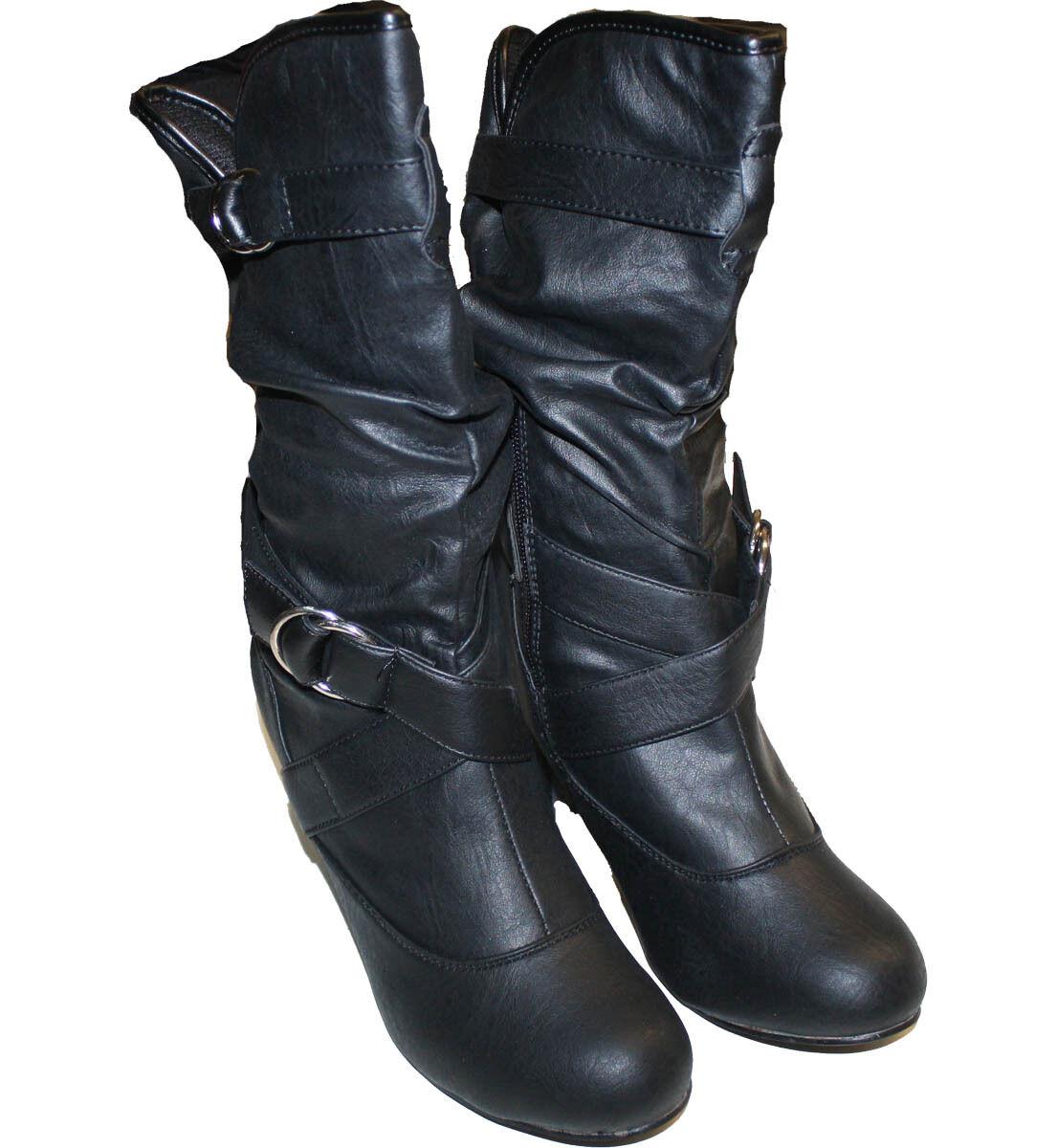 Women's Sexy Round Toe High Heel Manmade Leather Sexy Women's Stylish Shoes Fashion-LOMA High dbc001