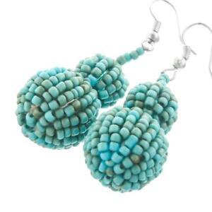 1-5-16-034-ADORABLE-TURQUOISE-BEADS-DANGLING-CHANDELIER-earrings