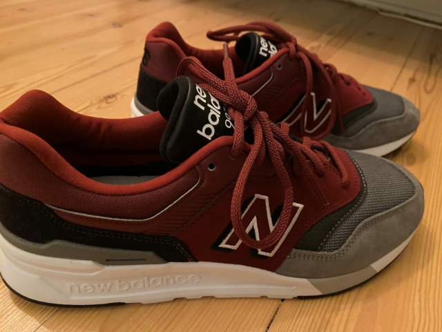 Sneakers, New Balance, str. 43,  Bordeaux/Grå,…