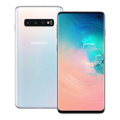 "NEUF Samsung Galaxy S10 (SM-G973F/DS) 6.1"" 128 Go LTE Dual SIM Débloqué BLANC"