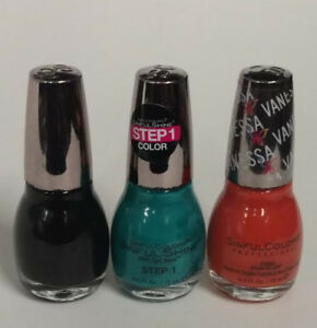 Sinful Colors Nail Polish, Halloween Trio (My Tribe + Dark ...