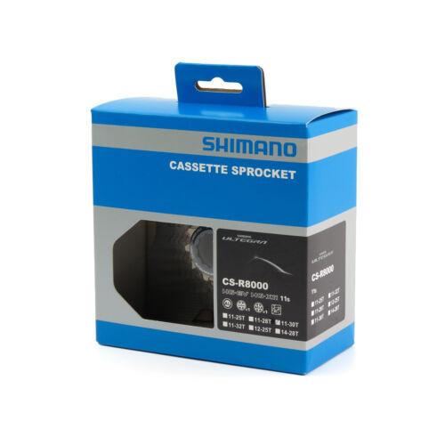 Shimano Ultegra CS-R8000 11 Speed Road Bike Cassette Freewheel 11-30T Box