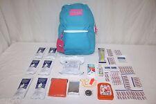 3 Day Children's Emergency Survival Kit Kid's Bag Tornado Earthquake 72 Hr Pack