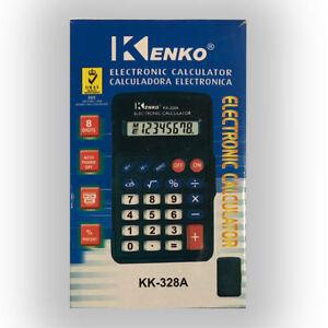 Kenko Electronic Calculator Auto Power Off 8 Digits Calculator Uk Seller F F D Ebay
