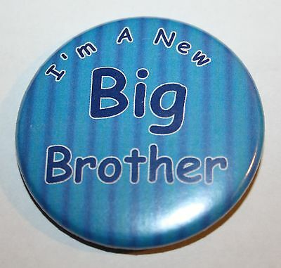 New Big Brother 50mm Pin Button Badge Ideal Gift For Older Siblings D2