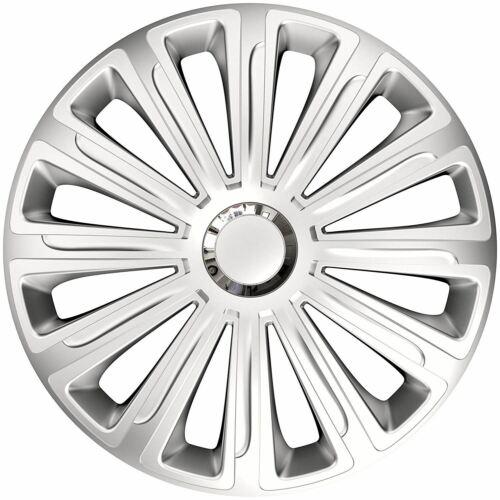 """4x rifiniture ruota Hub Caps 15/"""" copre si adatta a Peugeot 306 307 309 407 605"""
