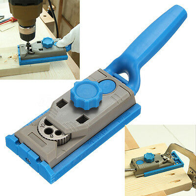Pocket Hole Drill Jig Dowel Wood Jointing Drilling Multipurpose Woodworking Tool