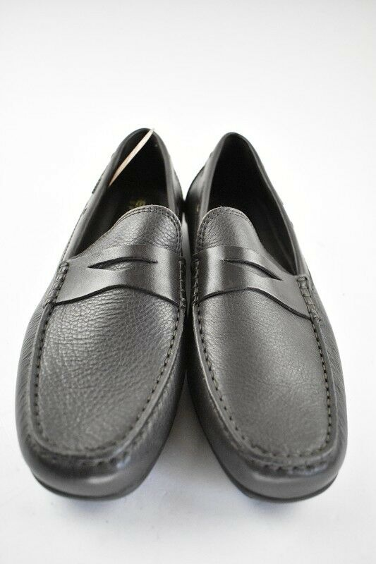 Geox Herren Slipper Leder Coffee in der Gr. 42