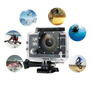 2'' Ultra HD 4K 1080P Sports WiFi Cam Action Camera DV Video Recorder 16MP HDMI