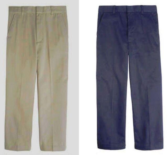 French Toast Boys Pants SLIM  Navy/Khaki   NEW   School Uniform