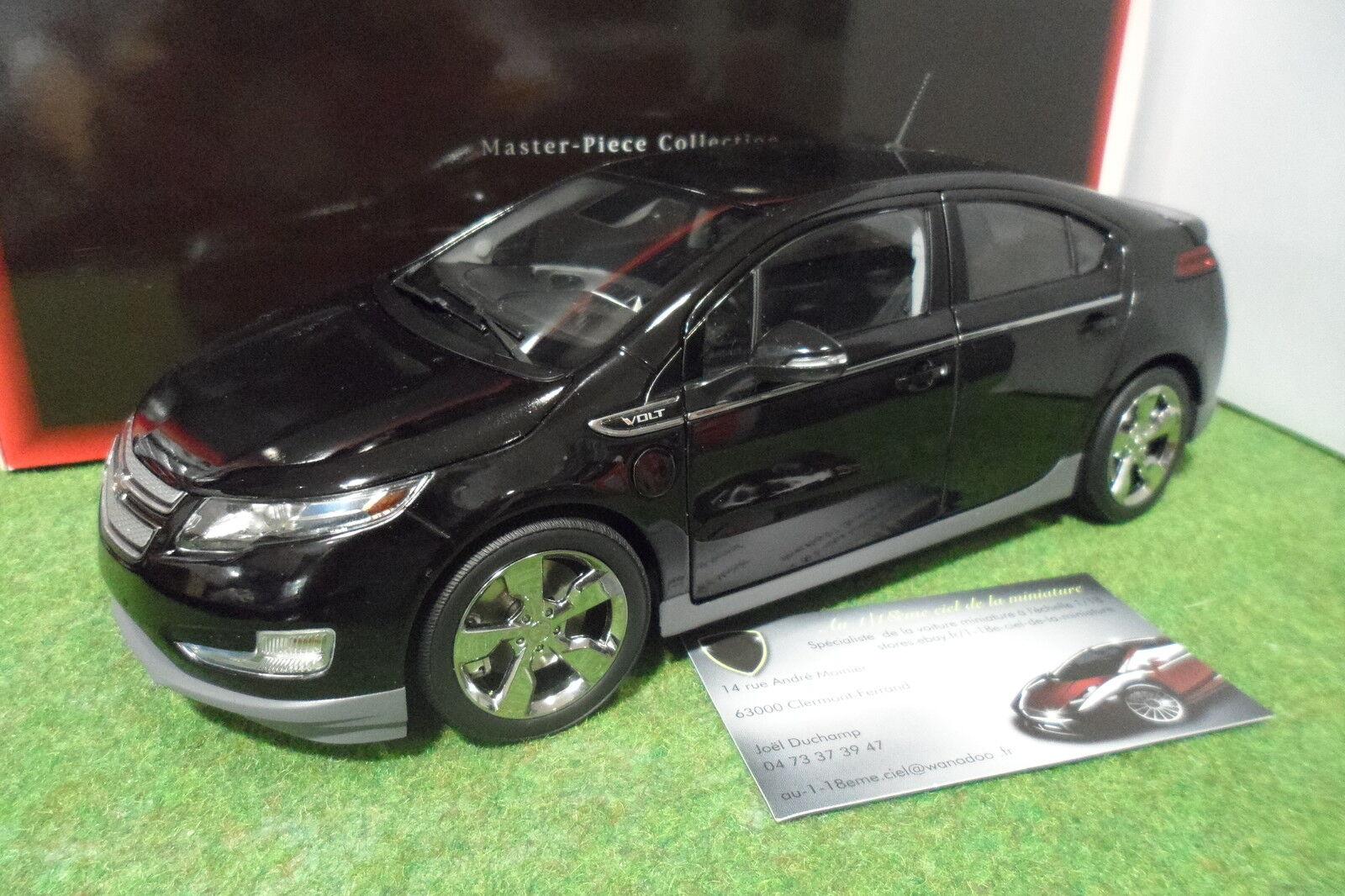 CHEVROLET VOLT noir 1 18 KYOSHO MASTER PIECE G004BK voiture miniature collection