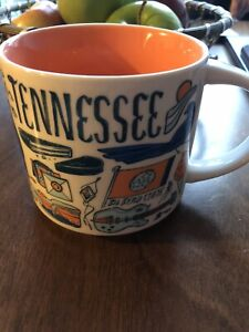 Pre-Owned Starbucks Tennessee Been There Series Collection 14 oz Ceramic Cup Mug