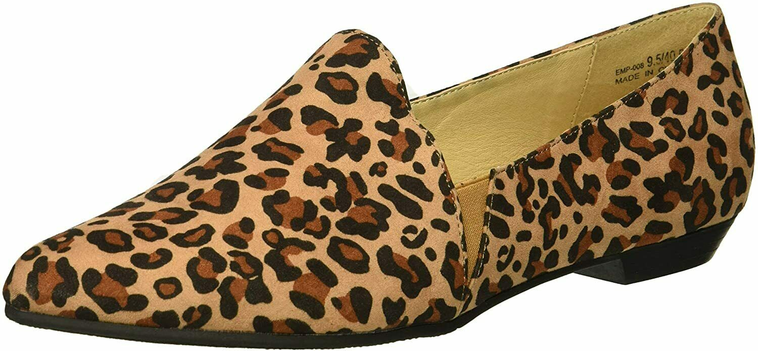 CL by Chinese Laundry Emmie Women's Natural Leopard Loafer Flat