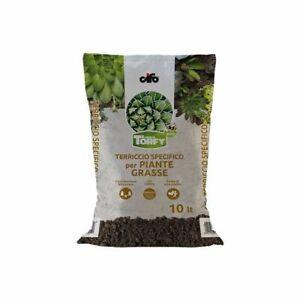 Terriccio Per Piante Grasse Cactus Succulente CIFO KAKTEEN TORFY 10 litri