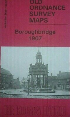 Old Ordnance Survey Maps Boroughbridge Yorkshire 1907 Godfrey Edition New