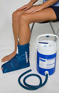 Aircast cryo cuff ankle cold compression therapy system for Aircast cryo cuff ic motorized and cuffs