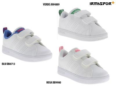 Scarpe adidas vs advantage cmf bambino bianco irmasport