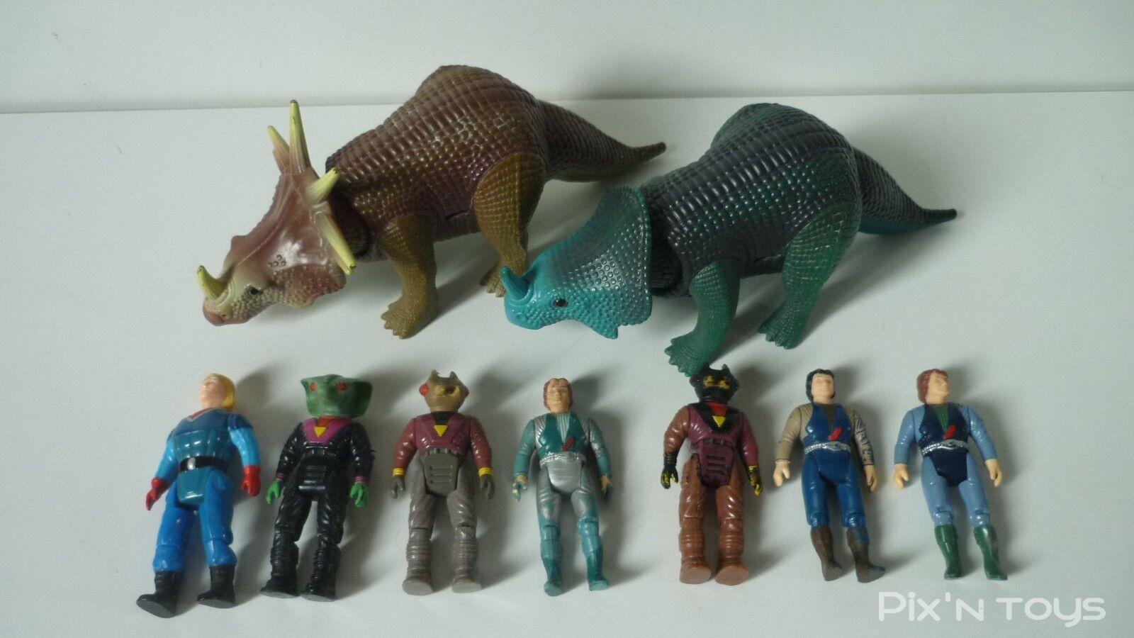 1b859bcc4 Lot Dino Riders Riders Riders Styracosaurus