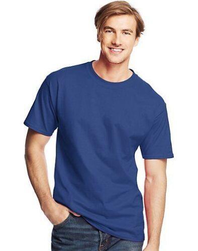 Hanes Mens Beefy-T TALL T-Shirts ASSORTED COLORS Sz LT 4 4XLT