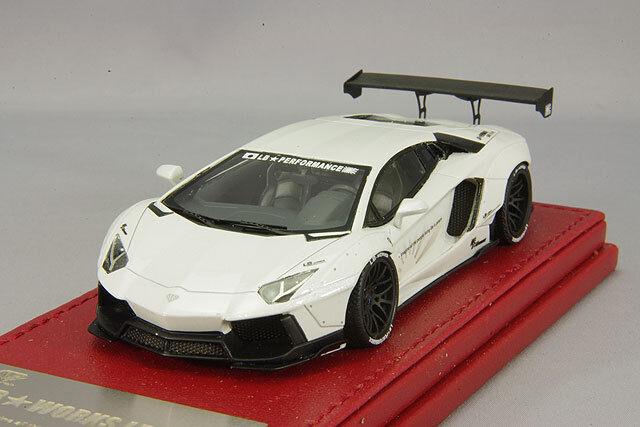 1   43 hi Story Tiger Gate LB Works Lamborghini Aventador lp700 - 4 blancoo LBA 103pw