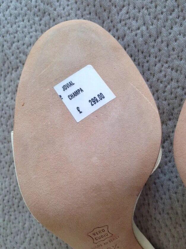 Kurt GEIGER Leder schuhe Sandales LIMITED EDITON Leder GEIGER UK 5.5 EU 38.5 NEW 3923dc