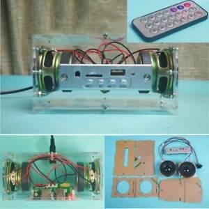DIY 3W Bluetooth 5.0 Speaker Kit Mini Speaker Wireless ...