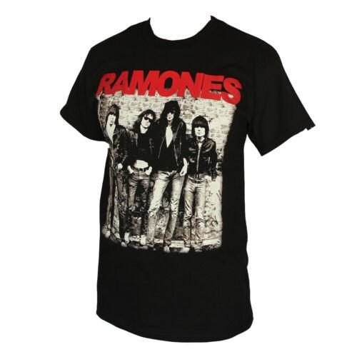 Ramones Rock Band Tee-shirt Homme Noir