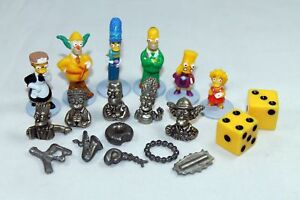 The Simpsons Cluedo SPARES Please choose your piece. Replacement Pieces