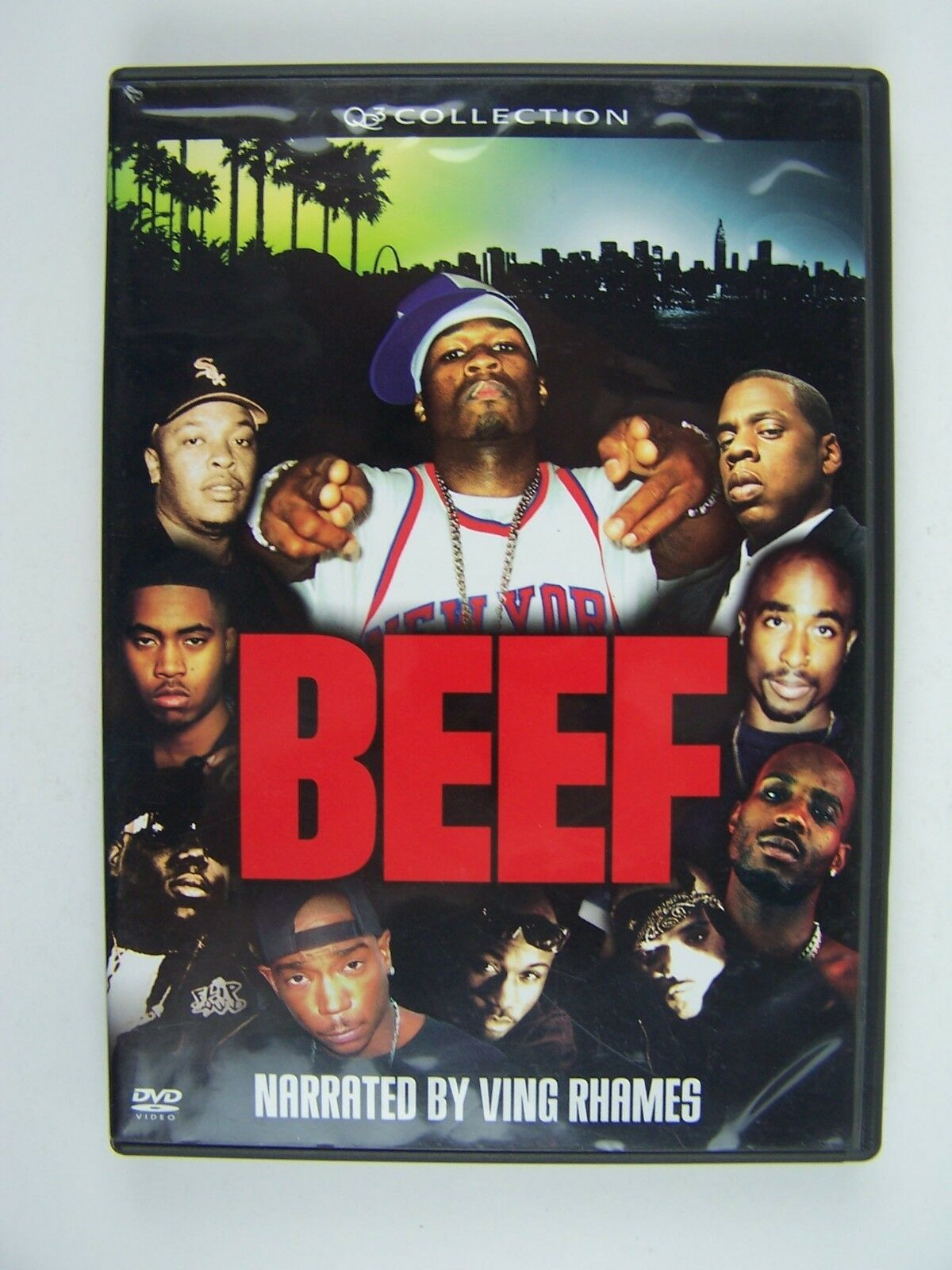 Beef DVD Ving Rhames, 50 Cent, Kevin Anderson, B-Real,