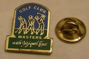 GOLF-CLUB-MASTERS-with-JEZEQUEL-LINE-vintage-pin-badge