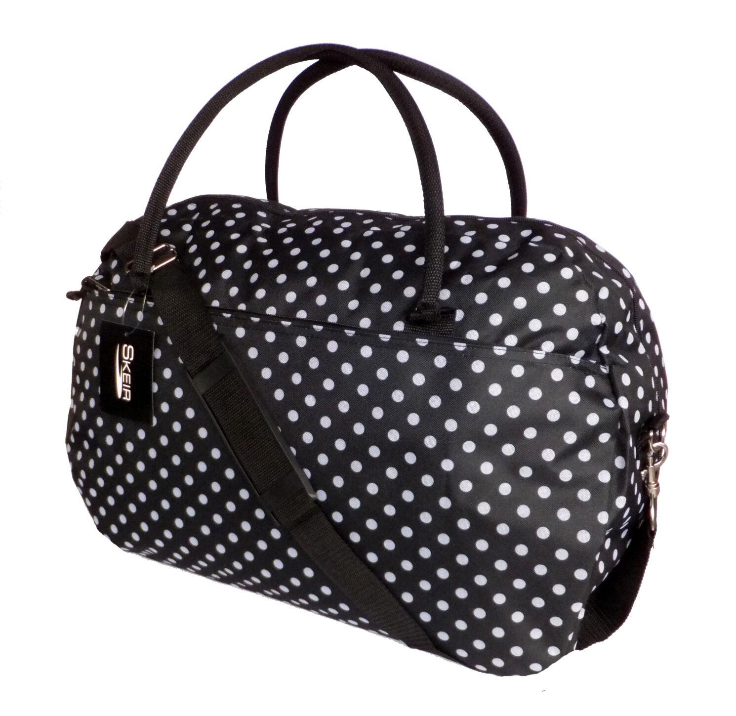 Popular Womenu0026#39;s Polka Dot Weekender Handbag - Navy // Target $24.49 // Super Cute Overnight Bag! | Misc ...