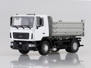 Scale-model-truck-1-43-MAZ-5550-dump-truck-restyling