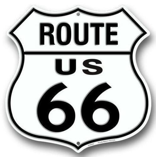 Historic Route 66 Novelty Route Badge Shield 12 Sign Garage Auto Shop Decor