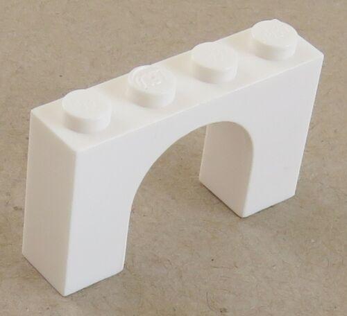 LEGO weiß # 6182 2 Stück Bogen / Arch 1 x 4 x 2
