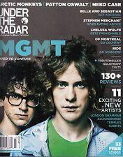 under the radar magazine oct. 2013 mgmt arctic monkeys neko case of montreal